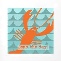 Seas the Day Framed Print | Jo Thearle